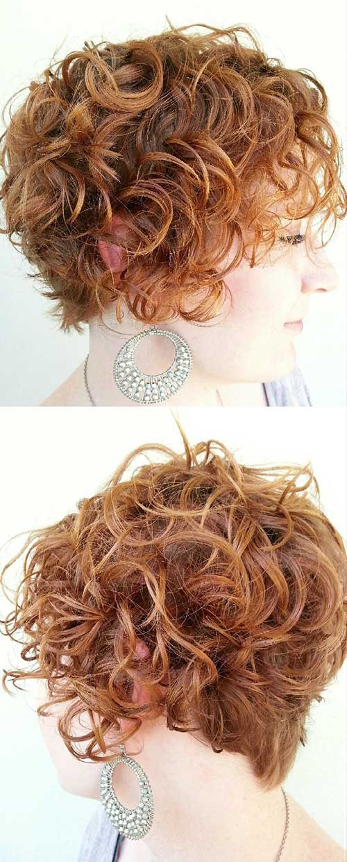 Curly Hair Styles for Women-9