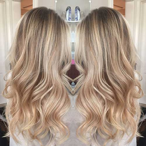 Blonde Long Hair Styles