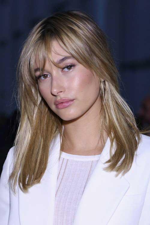 Celebrity Hair Bangs