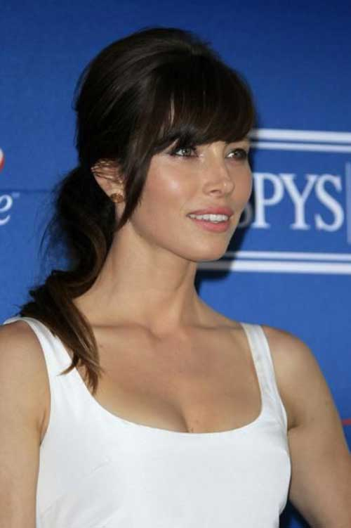 Celebrity Long Hair with Bangs