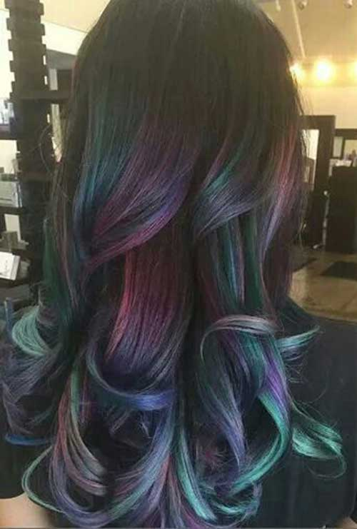 Dark Hair Color Ideas 2015