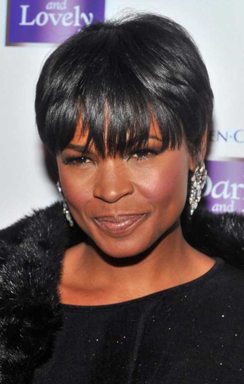Nia Long Hair Cut