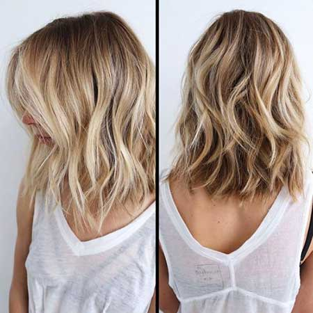 34 Inspiring Blonde Mid-Length Hairstyles
