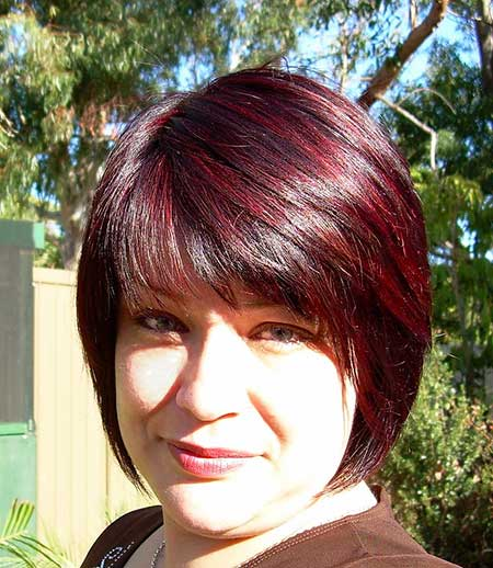 16 Amazing Burgundy Chestnut Hair Color Ideas | Hairstyles ...