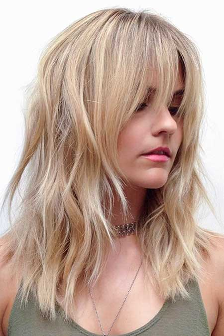 34 Inspiring Blonde Mid-Length Hairstyles | Hairstyles and Haircuts | Lovely-Hairstyles.COM