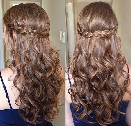 30 Gorgeous Braided Half Up Half Down Hairstyles Hairstyles And