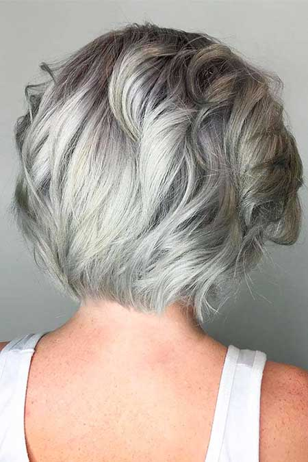 Must See 25 Pics Of Gray Haircuts Hairstyles And