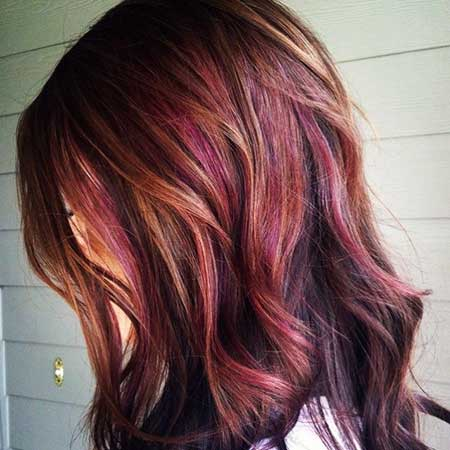 16 Amazing Burgundy Chestnut Hair Color Ideas