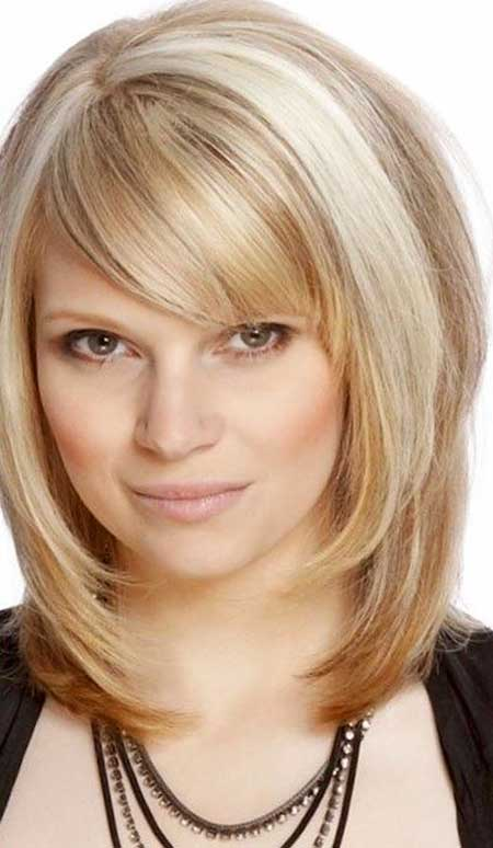 mid length haircuts with bangs layered medium length haircuts with bangs haircuts 1454
