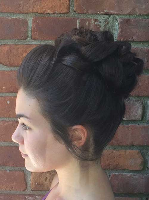 High Bun Hair Styles