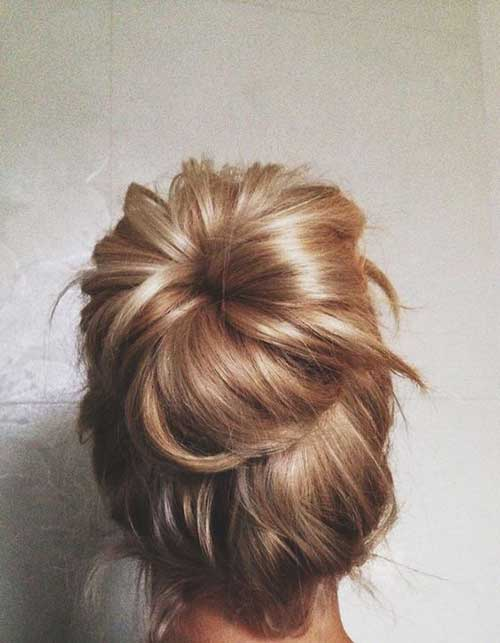 High Bun Hair
