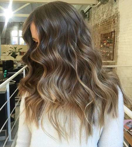 Curly Ponytail Onde Balayage, Balayage, Balayage Hair, Ombre, Blonde Balayage, Own Hair,