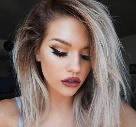 10 Gorgeous Blonde and Dark Hair Color Ideas