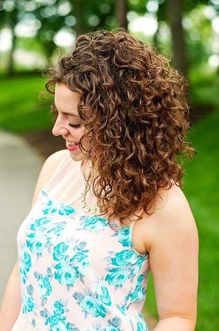Medium Permed Hairstyles Cute Hairstyles, Curly Hairstyles, Naturally Curly