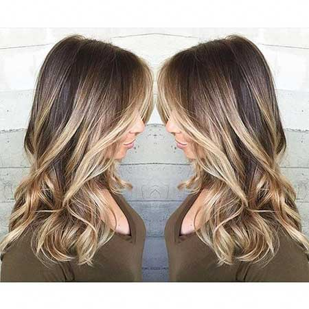 Brown Blonde Highlights Ash Blonde Balayage, Balayage, Blonde Balayage