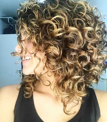 Short B Curly Hair, Curly Hairstyles