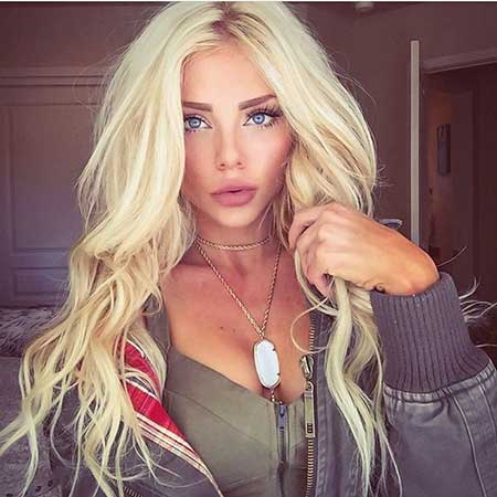 Platinum Blonde Blonde Bombshell Hair