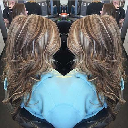 Blonde İghts Brown Lowlights Blondes İghts, Balayage,