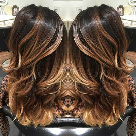 Dark Balayage Yage Highlights, Balayage, Ombre