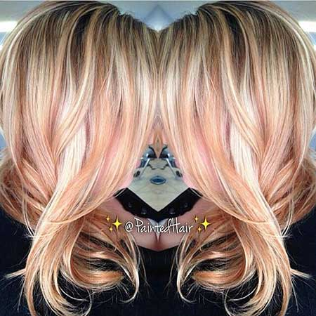 Gold Nde Hair Nde Ombre, Balayage, Nde Balayage, Ombre, Gold, Rose,