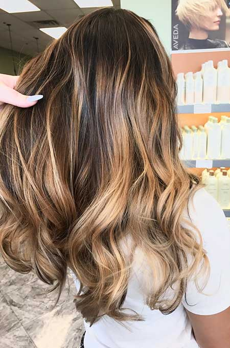 Brown Balayage Hair Caramel Balayage Hair Brunette, Balayage