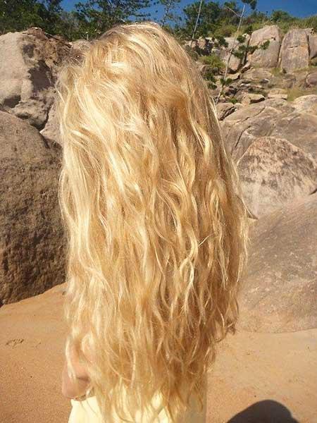Natural Highlights Beachy Waves, Curls, Waves, Curly Hair, Long Hair