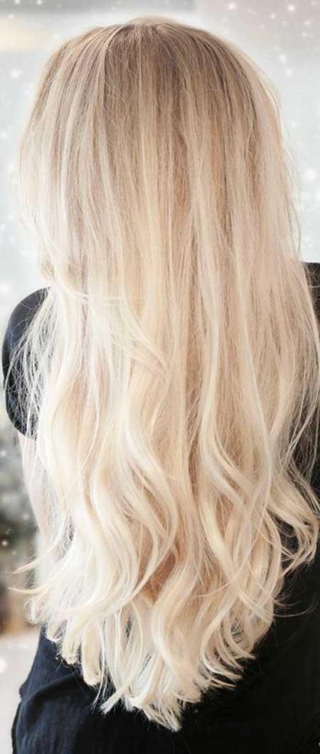 Blonde Long Hair Long Blonde Hairstyles, Balayage, Highlights, Blonde Highlights,