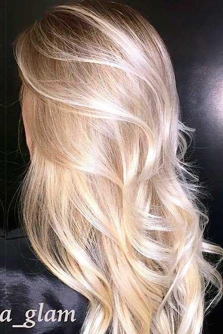Long Blond Hair Blonde Ombre Hair, Balayage, Blonde Balayage, Ash Blonde,