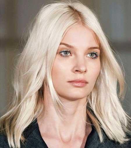 Hairstyles for, Platinum Blonde, Blond,