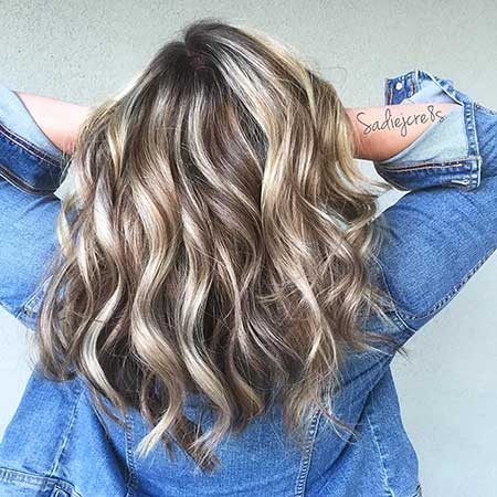 New Blonde And Brown Colored Hairstyles Hairstyles And Haircuts