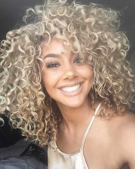Blonde Curls Blonde Perm, Curly Hair, Curls, Curly, Curly Hairstyles,