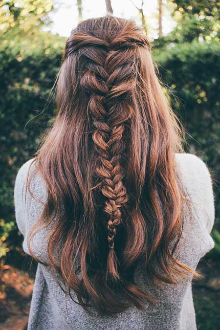 Messy, Long, Fishtail