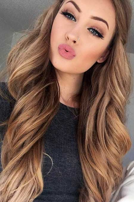 golden brown hair styles 25 best brown hair hairstyles amp haircuts 2016 2017 5558