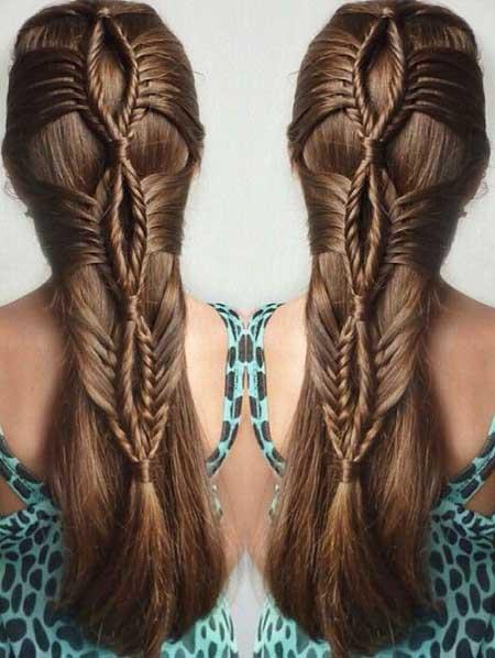 Long, Fishtail, Trenza