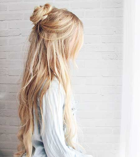 Bun Hair Tutorials Hair Styles Long Tutorials, Kassinka, Hair Tutorial,