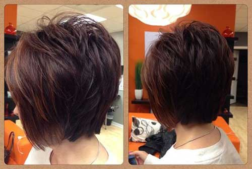 Brown Short Hairstyles-12