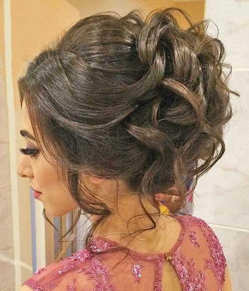 Long Hair Buns