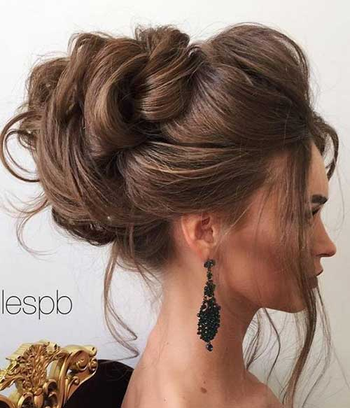 15 Pics of Impressive Wedding Hairstyles