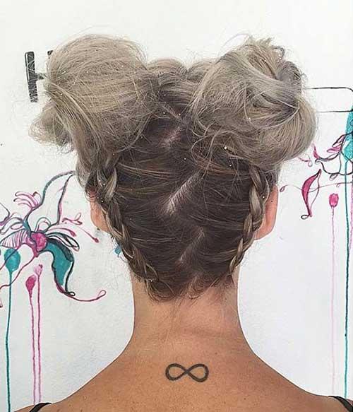 Messy Bun Hairstyles-13
