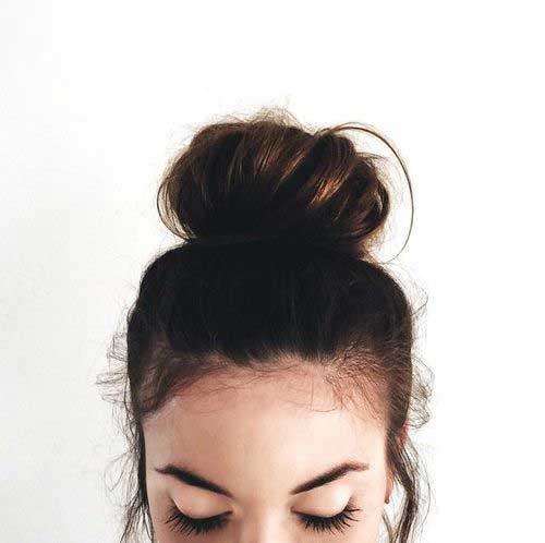 Messy Bun Hairstyles-15