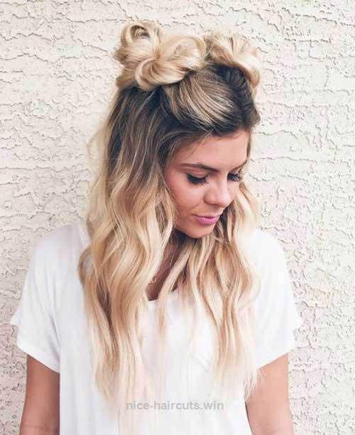 Half Bun Hairstyles-11
