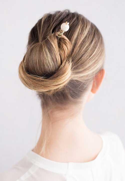 Classy Long Hair Buns-7