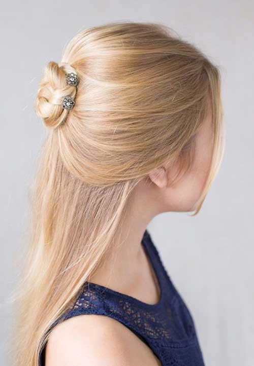 Half Bun Hairstyles-8