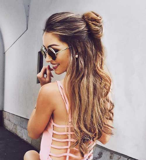Best Half Bun Hairstyles