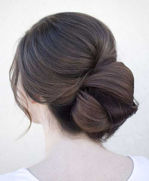 Long Hair Buns