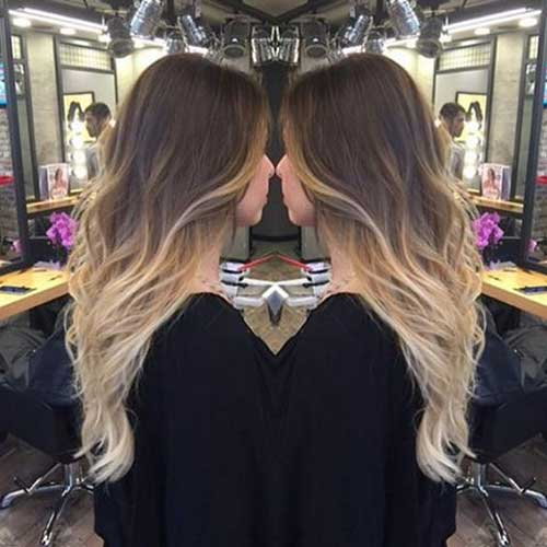 Blonde Ombre Hairstyles