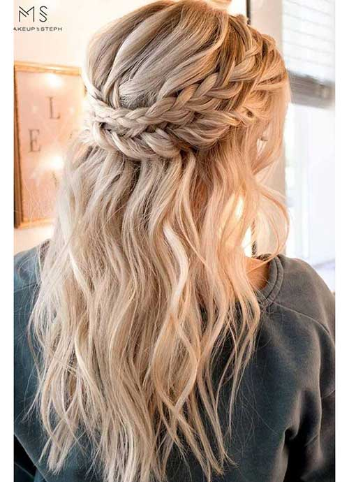 Lovely Braided Hairstyles for Ladies