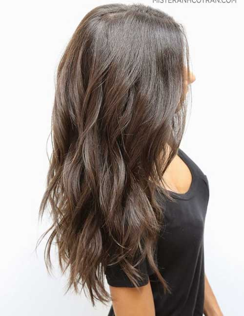 Long Layered Hair Cuts