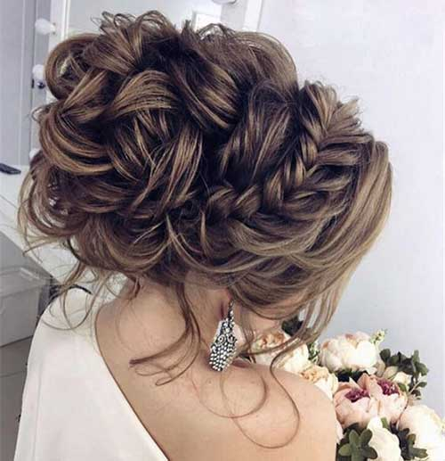 15+ Updo Hairstyles for Special Look