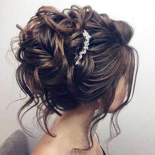 Long Wedding Updo Styles